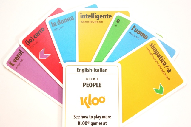 Learn Italian KLOO Cards