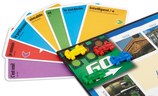 Learn French with KLOO board games