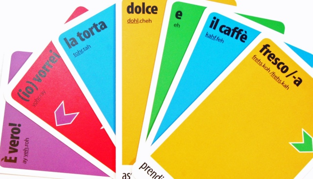 KLOO cards help you learn French Spanish and Italian